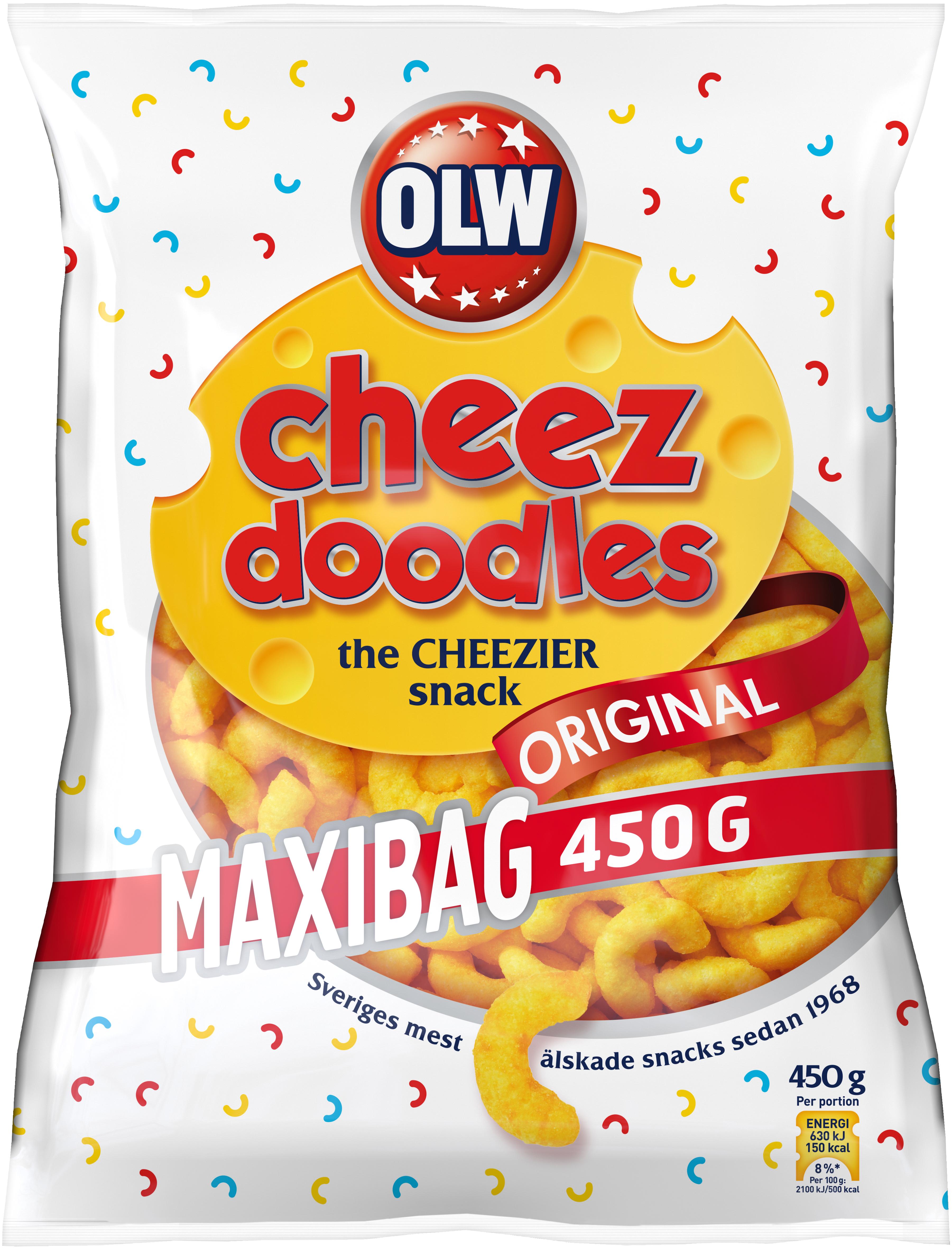 OLW CHEEZ DOODLES MAXI