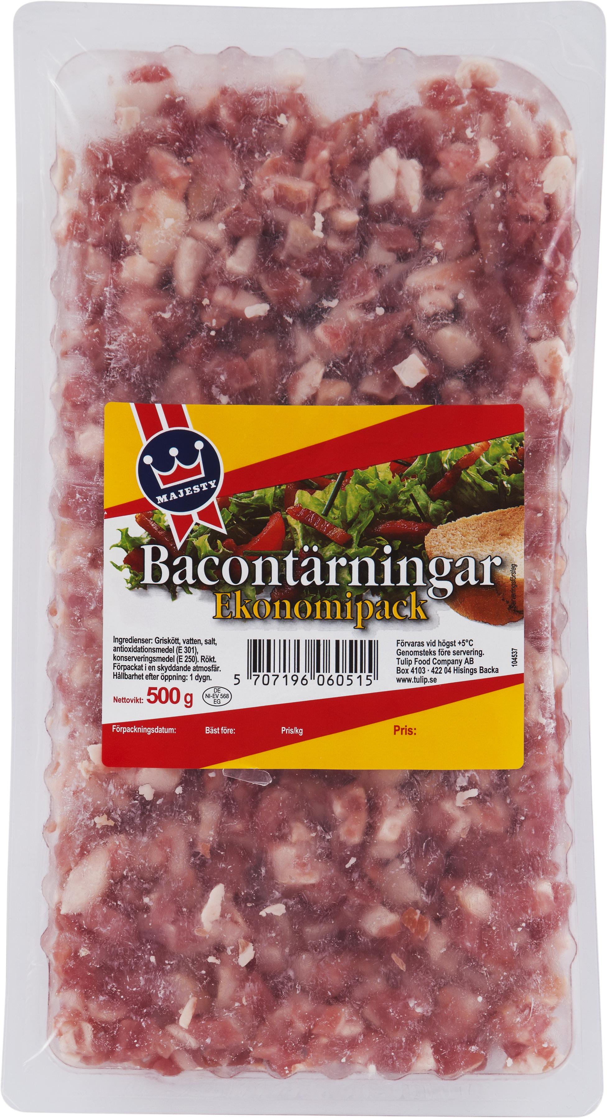 Bacontärningar_Majesty, 500g_29,90 :förp