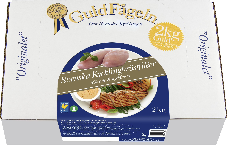 Kycklingbröstfilé_Guldfågeln, djupfryst, 2kg_129,00 :förp